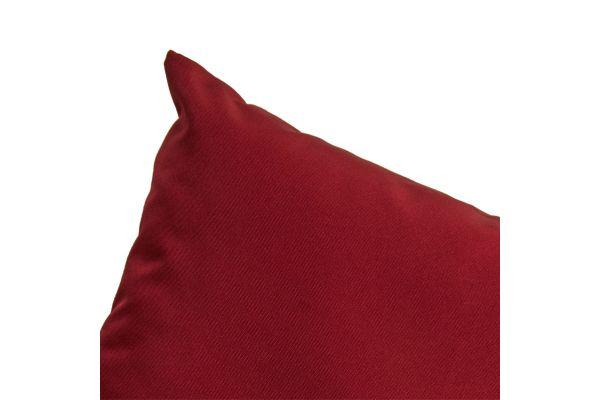 13er-Set Kissenbezüge Marbella rubinrot