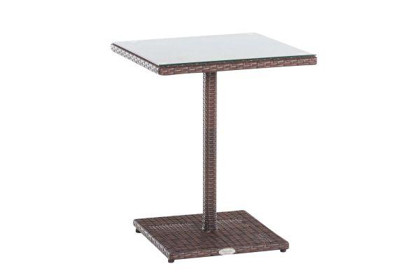 Tisch Palermo braun-meliert