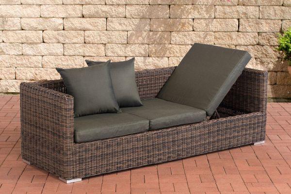 Lounge-Sofa Solano 5mm Rundrattan