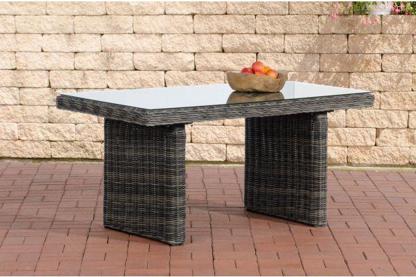 Tisch Fisolo/Minari/Bermeo 5mm grau-meliert