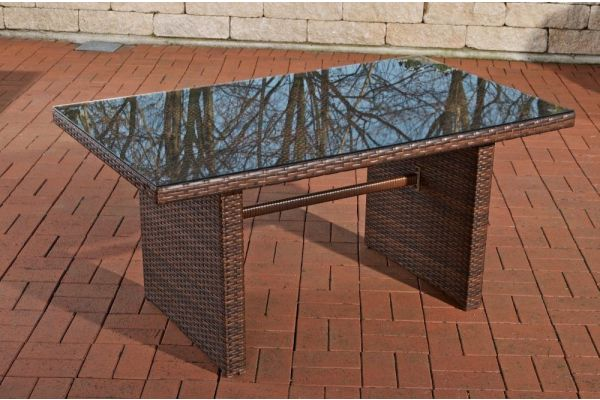 Tisch Fisolo/Minari/Bermeo braun-meliert