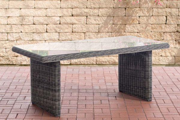 Tisch Fontana grau-meliert