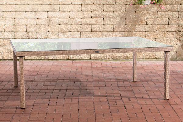 Tisch Pizzo/Tropea 210x150 cm sand