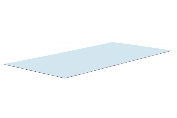 Glasplatte Gartentisch Provence 110x60 cm