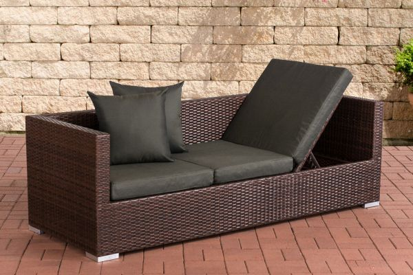 Lounge-Sofa Solano Anthrazit